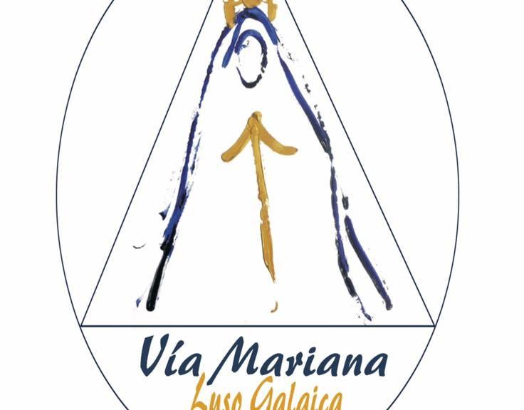 Vía Mariana, Logo.